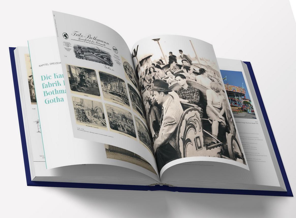 """Buch """"Vom Karussellpferd zur Raketenbahn"""""""